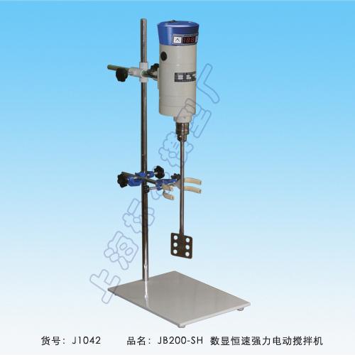 上海标本JB200-SH数显恒速强力电动搅拌机