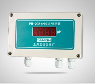 上海三信PB-202pH变送器/显示器