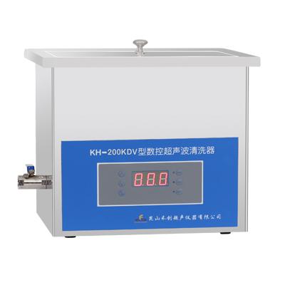 昆山禾创KH-200KDV高功率数控超声波清洗机