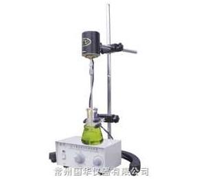 常州国华JJ-1.100W精密增力电动搅拌器 转速数显