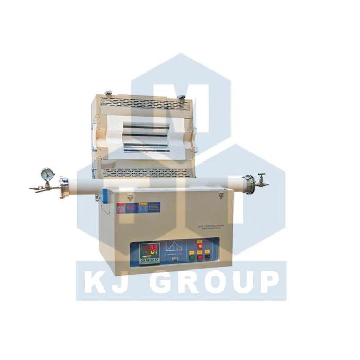 合肥科晶GSL-1600X-OTF-80单温区开启式30段可编程管式炉