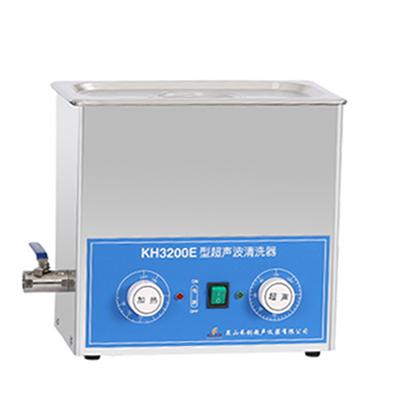 昆山禾创KH3200E旋钮式超声波清洗机