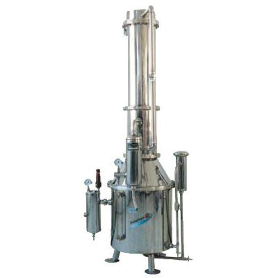 上海三申TZ400塔式蒸汽重蒸馏水器