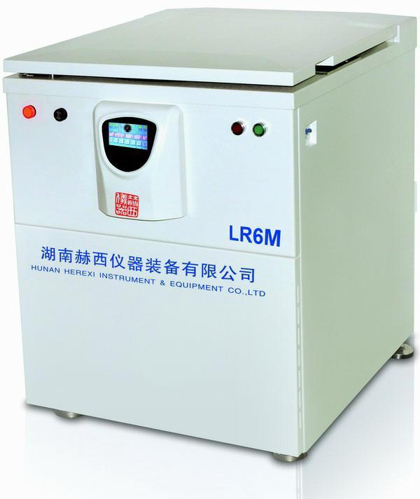 湖南赫西LR6M低速大容量冷冻离心机