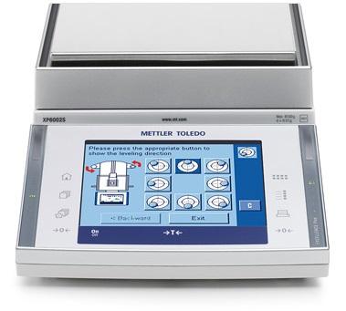 梅特勒XP10002SDR电子天平