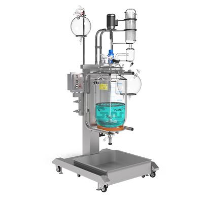 长城科工贸GRSL-100升降调速双层玻璃反应釜