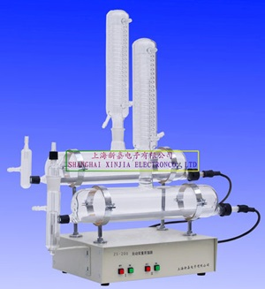 上海新嘉ZS-200双重蒸馏水器