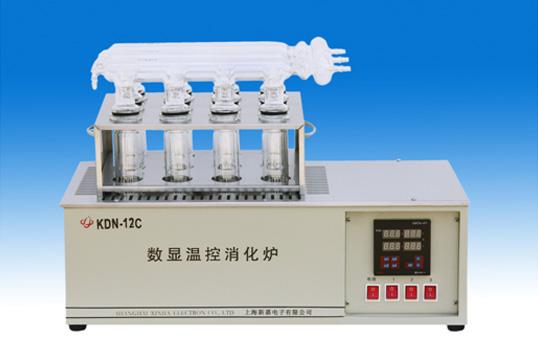 上海新嘉KDN-12C数显温控消化炉